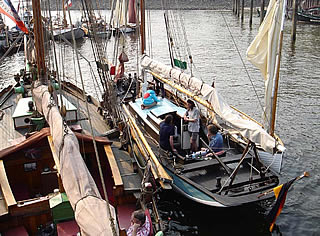 next to the 'Freundschaft' at the museum port Oevelgönne 2006